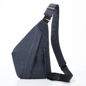 Man fashion Triangle Crossbody Bag backpack chest bag
