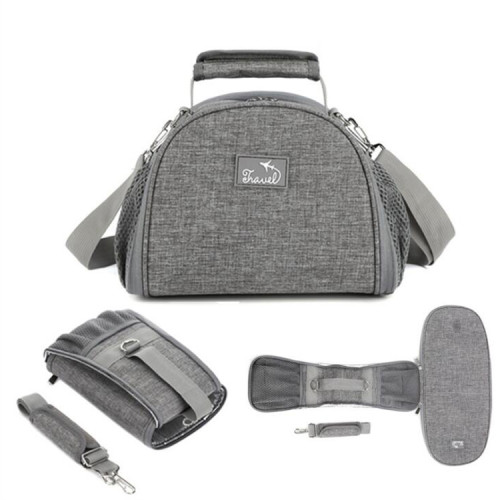 New trending fashion multi-function foldable mommy baby diaper bag Picnic cooler bags