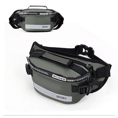 Waterproof crossbody shoulder bags fanny packs custom logo waist bag for men