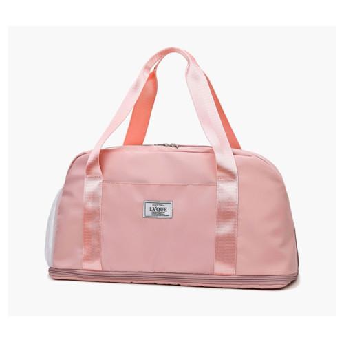 Custom logo fashion extendable sports duffel bags for men travel bag