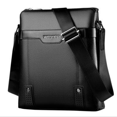 luxury messenger bag custom logo business casual mens crossbody shoulder bag