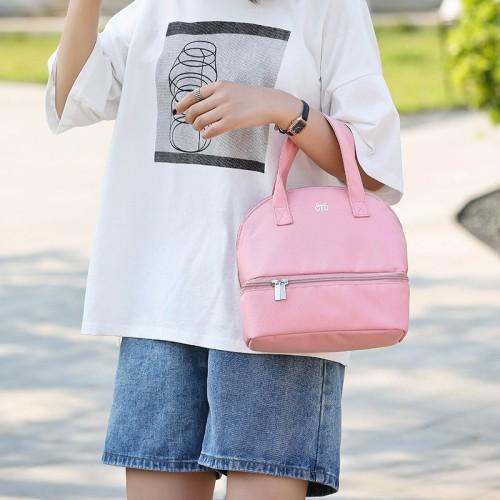 Custom fashion milk preservation bag insulated cooler bag Diaper bags