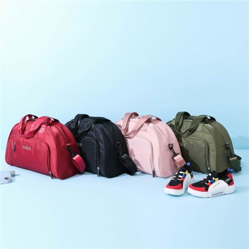 New design fashion girls and boys travel duffel bags gym sports bags
