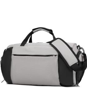Custom logo shoe compartment duffel bags simplicity sport bags for gym travel