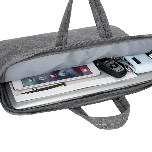 Custom polyester 15.6 inch men leisure business laptop bags