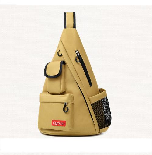 Custom waterproof multi function laptop leisure travel men canvas chest bags