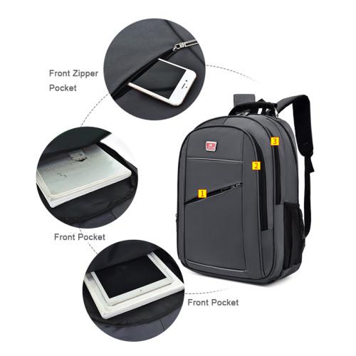 Waterproof business nylon 19 inch school leisure laptop backpacks