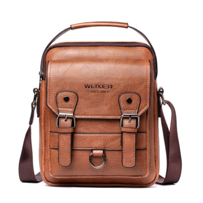 Hot Sale Leather Men Sling Bag Leisure Crossbody Men Messenger Bags
