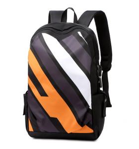 Custom man big capacity laptop travel backpack