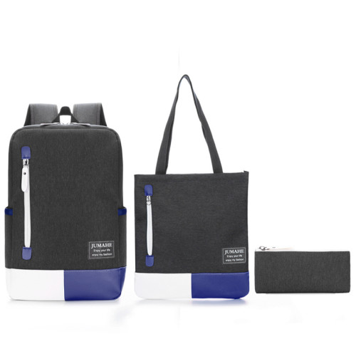 Unisex high quality 3pcs in 1 bags school backpack set