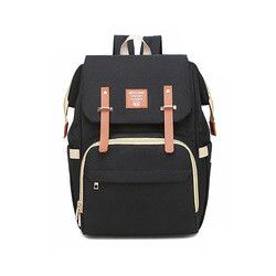 2021 Trendy Large Capacity Baoma Backpack with USB Port Baby Travel Backpack