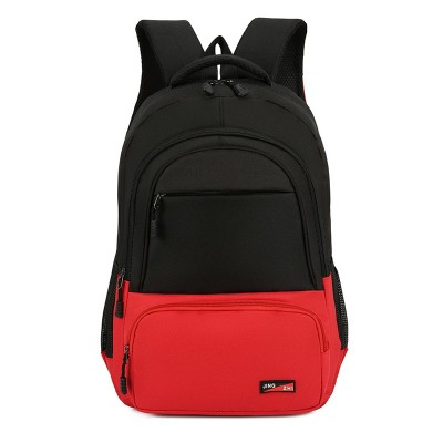 Custom logo men women black school oxford travel leisure laptop backpack.