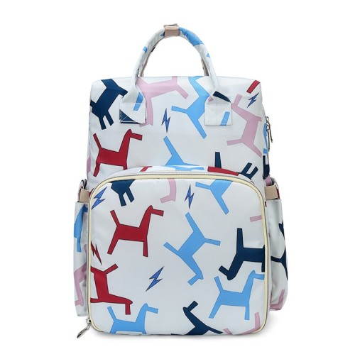 baby bags luiertas portable bag outdoor changing bag printed unique travel backpack diaper backpack