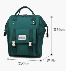 Large capacity diaper backpack Borsa pannolino multifunction mommy baby backpack waterproof fashion diaper bag