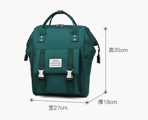 Large capacity diaper backpack Borsa pannolino multifunction mommy baby backpack waterproof fashion diaper bag