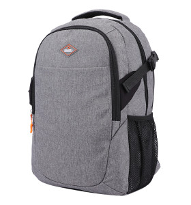 OEM ODM high quality gray nylon business men computer backpack
