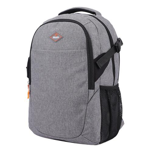 High quality gray nylon business men computer backpack nylon bags men bags