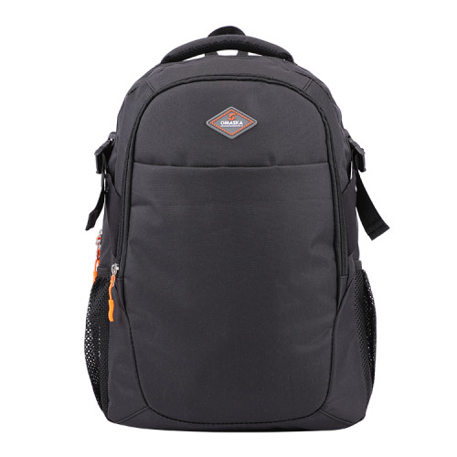 High quality gray nylon business men computer backpack