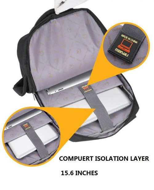 New men multifunction laptop backpack Plecak backpack with usb charging port custom logo backpack