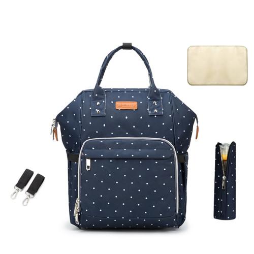 Nappy Bag Waterproof Travel Multifunction USB Charger Bottom Antifouling Design Mommy Diaper Bag Backpack