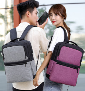 Large Capacity Laptop Backpack Zaion Waterproof Nylon men and women Laptop Backpack Custom Fashion Laptop Bag