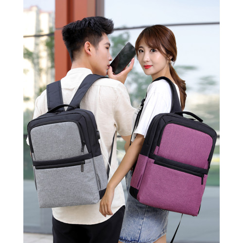 Large Capacity Laptop Backpack Zaion Waterproof Nylon men and women Laptop Backpack Custom Fashion Laptop Bag