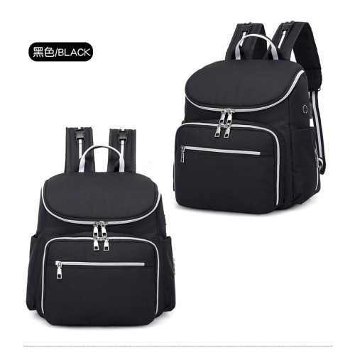 wholesale High Quality Multi-function USB Large Capacity Diaper Bag mommy backpack