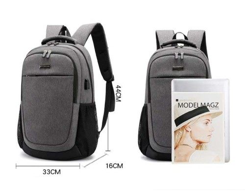 Laptop Backpack sac a dos mochilas Waterproof High Capacity Anti Theft 15.6 Inches USB Laptop School Backpacks