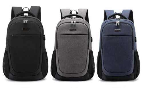 Laptop Backpack  Waterproof High Capacity Anti Theft 15.6 Inches USB Laptop School Backpacks