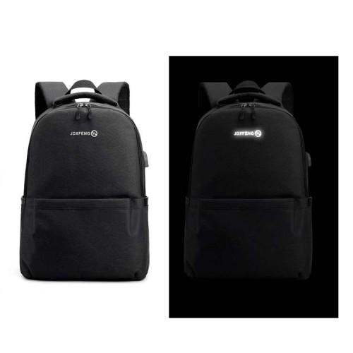 Smart Modern USB Laptop Backpack Anti Theft Waterproof Business Power Bank Laptop Backpack for men