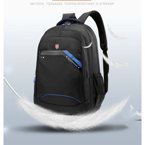 Multifunctional Design Polyester Laptop Backpack Modern College University Trolley Laptop Backpack