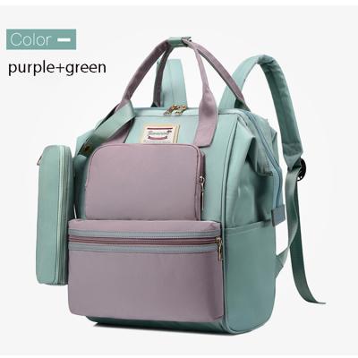 Oxford custom diaper bags waterproof  backpack fashion traveling leisure outdoor backpack