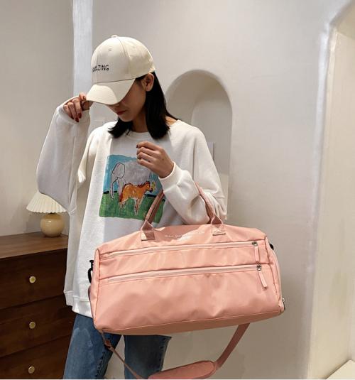 Customized Logo Sporttasche Large Capacity Duffle Bag Travel Bag for Women Waterproof Sports Travel Bag