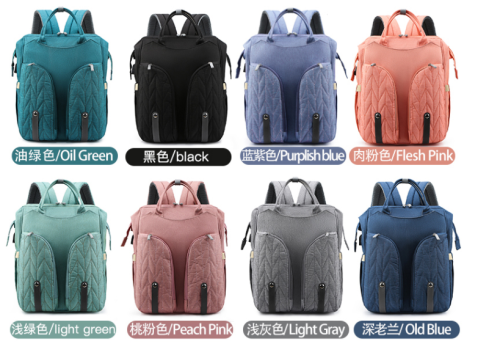 baby changing backpack Big Capacity Multi-Functional with Changing Pad Casual Mommy Backpack for Baby Care