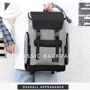 Smart Design Laptop Backpack Trolley bags School Bags University Laptop Backpack Bag for men