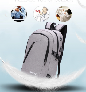 Waterproof Business Laptop Backpack Smart Anti-theft University Computer Bags Laptop Backpack with USB porting