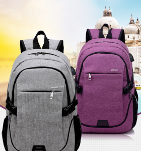 Office Computer Laptop Backpack Waterproof Business University School Bags Laptop Backpack with USB Charger port