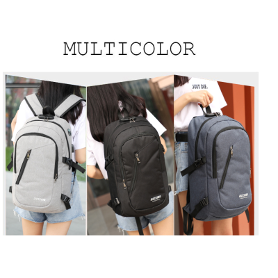 Travelling College Laptop Backpack Student Custom Logo Softbackt University Bags Lapop Backpack with USB Charger po Nylon Backpack