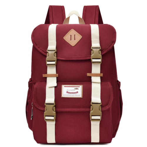 Teenagers School Bag Fashion Durable Oxford Travel Unisex School Bags Backpack for Student