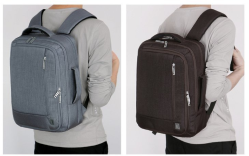 Business Laptop Backpack Multifunction Waterproof Nylon Fabric USB Charger Travel Backpack Bag