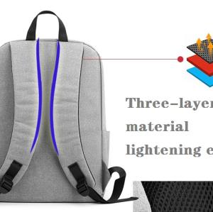 Fashion university men laptop backpack bags  custom logo waterproof usb anti theft backpack