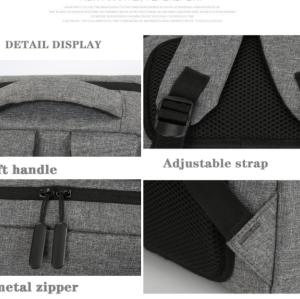 New men  laptop backpack  waterproof large capacity custom logo laptop backpack bag
