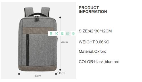 New men  laptop backpack  waterproof large capacity custom logo laptop backpack bags