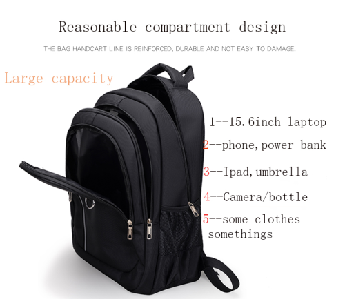 Backpack School Bags Customized Logo Oxford Fabric backpack Laptop Travel Bag