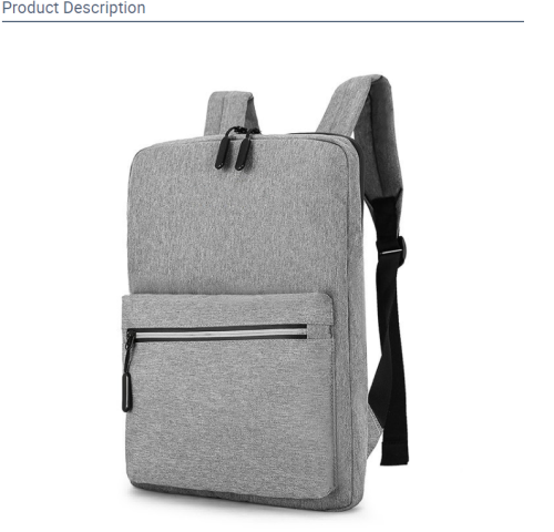 Customizable leisure business backpack waterproof safety bag