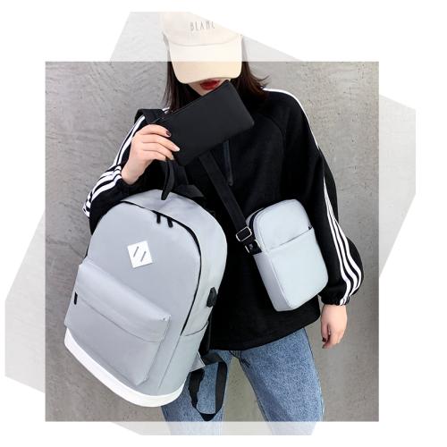 Nylon school backpack strap pencil bag children school children shoulder backpack