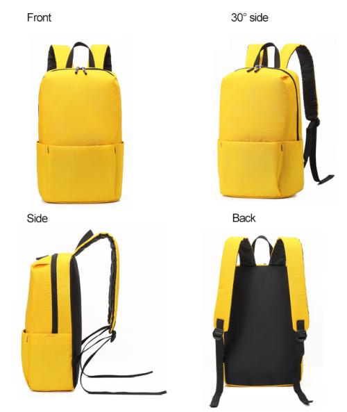 Backpack student bag leisure travel sports outdoor promotional gifts backpack custom LOG outdoor bag man bag