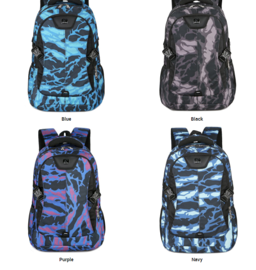 Factory Outlet Fashion Large Capacity Casual Backpack Waterproof Lightweight Student Backpack Outdoor Travel Bags