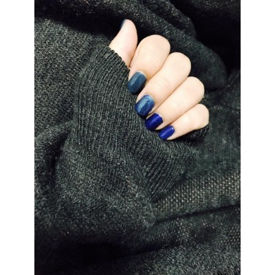 Smooth Appearance Blue Collection no formaldehyde Nail polish