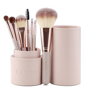 Wholesale High Quality Cosmetics Woman Makeup Tools Custom Logo Private Label Makeup Brush case